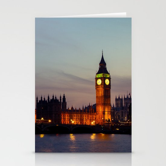 London | Big Ben Stationery Card