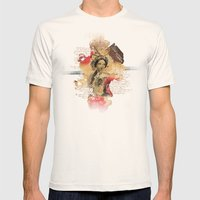 Shakespeare Ladies #1 Mens Fitted Tee Natural SMALL