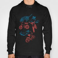 Cats On Bikes Hoody