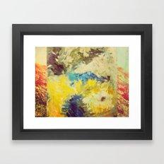 Waterfall (ANALOG Zine) Framed Art Print