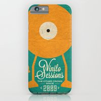 iPhone & iPod Case featuring VINILO SESSIONS by Carlos Hernandez