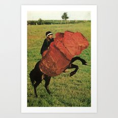 meatrider Art Print