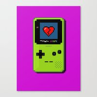 Don't Play With My Heart Canvas Print