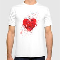 Fragile Heart Mens Fitted Tee White SMALL