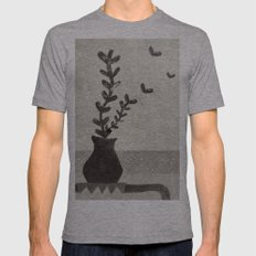 vv Mens Fitted Tee Athletic Grey SMALL