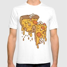 Cheezy SMALL Mens Fitted Tee White