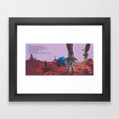 POEM OF VENUS Framed Art Print