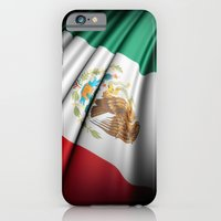 iPhone & iPod Case featuring Flag of Mexico by Lulla