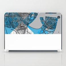 mesmerized by the light blue diamond iPad Case