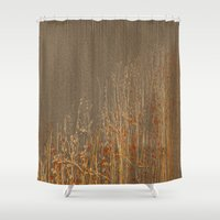 Dry flowers Shower Curtain
