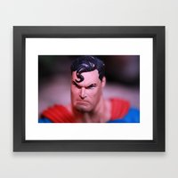 Someone Pissed In Superm… Framed Art Print
