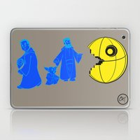 Thats no moon its a... oh hell run!! Laptop & iPad Skin
