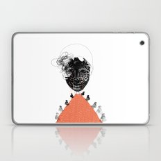 Moonrise mountain (mother earth cries) Laptop & iPad Skin
