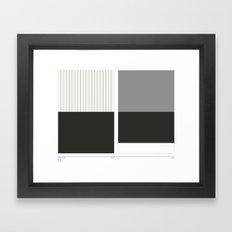 Home&Away White Sox Framed Art Print