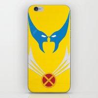 Minimal Wolverine iPhone & iPod Skin