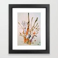 Burst 2 Framed Art Print