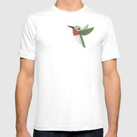 Muttervogel Mens Fitted Tee White SMALL