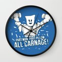 All Carnage! Wall Clock