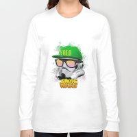 Stormtrooper Swag Long Sleeve T-shirt