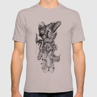 Earth Day Mens Fitted Tee Cinder SMALL