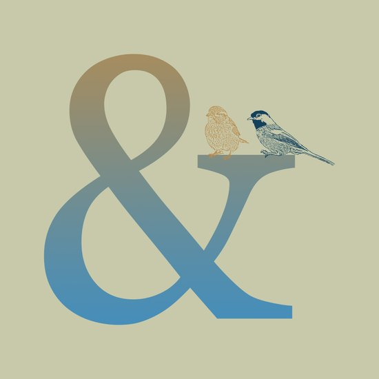 Ampersand And Birds Art Print