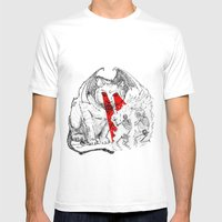 Lethal Optical Lasers Ca… Mens Fitted Tee White SMALL