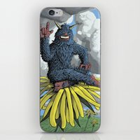 Monster On Oblique Dande… iPhone & iPod Skin