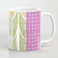Palm Flower Mug