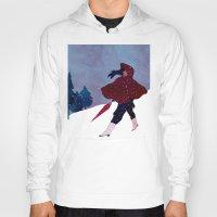 walking on snow Hoody