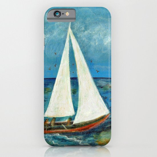 A Day at Sea iPhone & iPod Case