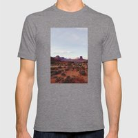 Monument Valley View Mens Fitted Tee Tri-Grey SMALL