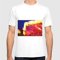 Heartquake Mens Fitted Tee White SMALL