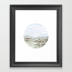 Crop Circle 02 Framed Art Print