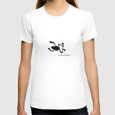 Frog Womens Fitted Tee White SMALL