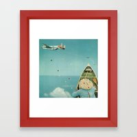 Air Communication Framed Art Print