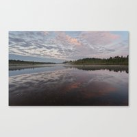 reflections of the sky Canvas Print