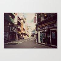 Korean Street Canvas Print