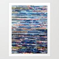 STRIPES 26 Art Print