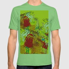 fairytales Mens Fitted Tee Grass SMALL
