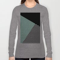 Mint Color Block With St… Long Sleeve T-shirt