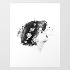 Cosmic Matter Art Print