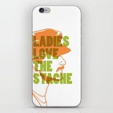 Ladies Love the Mustache iPhone & iPod Skin