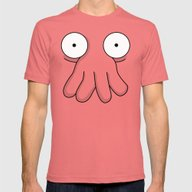 Dr. Zoidberg Mens Fitted Tee Pomegranate SMALL