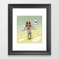 Pilot Framed Art Print