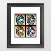 Quadruple Italian Express Framed Art Print