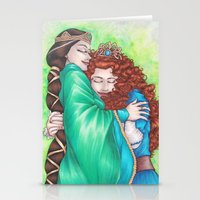 Merida And Elinor Stationery Cards