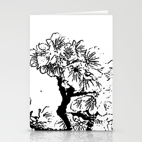 Cherry Blossom #7 Stationery Card
