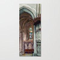 Cathédrale, Partie Deux Canvas Print