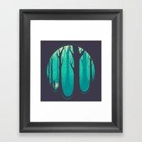 Lonely Dream Framed Art Print