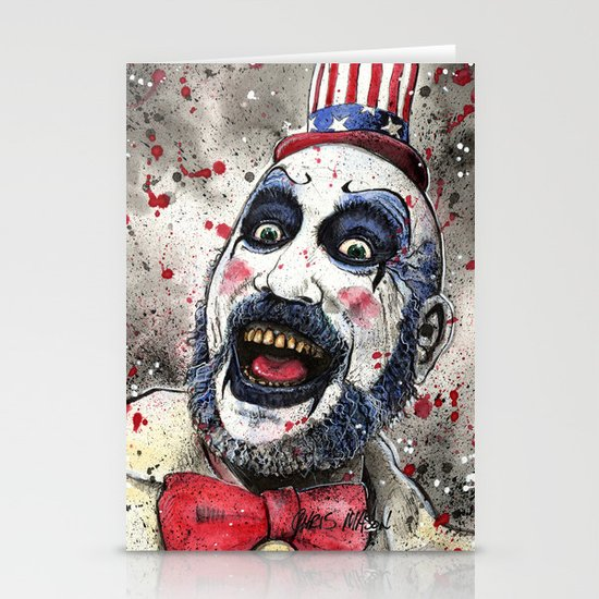 Captain Spaulding -The Devil's Rejects Stationery Card